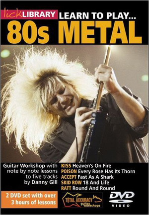 Lick Library: Learn to Play 80s Metal (NTSC Version) (Retail Only)