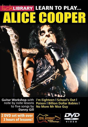 Lick Library: Learn to Play Alice Cooper (NTSC Version) (Retail Only)