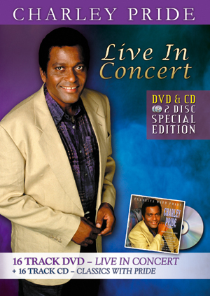 Charley Pride: Live in Concert (With CD) (Retail / Rental)