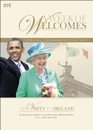 A Week of Welcomes - The Visits to Ireland of Queen Elizabeth ... (2011) (Irish Version) (Retail / Rental)