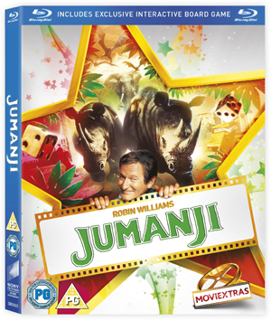 Jumanji (1995) (Blu-ray) (Retail / Rental)