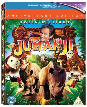 Jumanji (1995) (Blu-ray) (20th Anniversary Edition) (Retail Only)