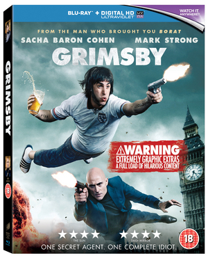 Grimsby (2015) (Blu-ray) (with UltraViolet Copy) (Retail Only)