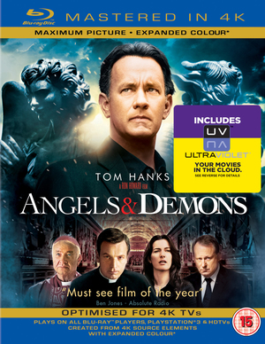 Angels and Demons (2009) (Blu-ray) (4K + UltraViolet Copy - Double Play) (Deleted)