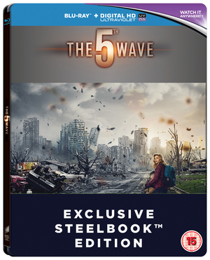 The 5th Wave (2016) (Blu-ray) (Steel Book with UltraViolet Copy) (Retail Only)