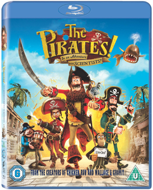The Pirates! In an Adventure With Scientists (2012) (Blu-ray) (with UltraViolet Digital Copy - Double Play) (Retail Only)