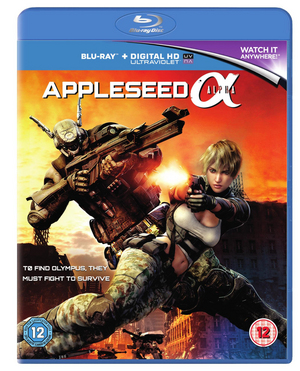 Appleseed: Alpha (2014) (Blu-ray) (with UltraViolet Copy) (Retail Only)