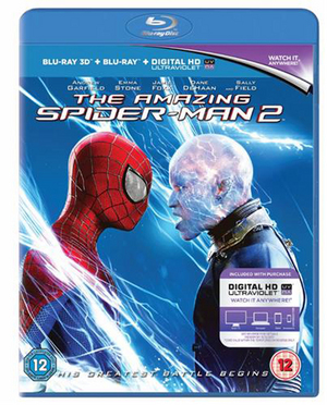 The Amazing Spider-Man 2 (2014) (Blu-ray) (3D Edition + UltraViolet Copy) (Retail Only)