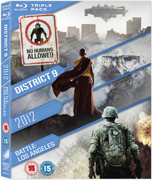 2012/Battle: Los Angeles/District 9 (2011) (Blu-ray) (Retail Only)