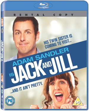 Jack and Jill (2011) (Blu-ray) (Rental)
