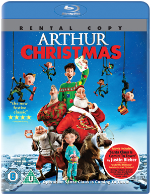 Arthur Christmas (2011) (Blu-ray) (Rental)