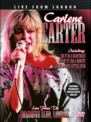 Carlene Carter: Live from London (1983) (Retail / Rental)