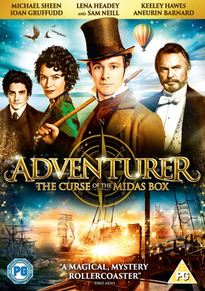 The Adventurer - The Curse of the Midas Box (2013) (Retail / Rental)