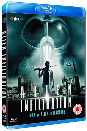 Alien Infiltration (2010) (Blu-ray) (Retail / Rental)