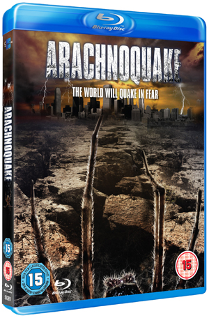 Arachnoquake (2012) (Blu-ray) (Retail / Rental)