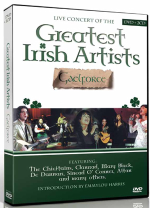 Gaelforce: Live Concert of the Greatest Irish Artists (With CD) (Retail / Rental)