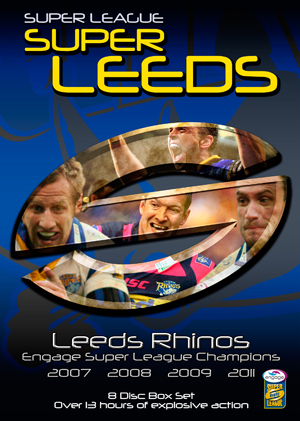 Leeds Rhinos: Engage Super League Champions '07/'08/'09/'11 (2011) (Box Set) (Retail / Rental)