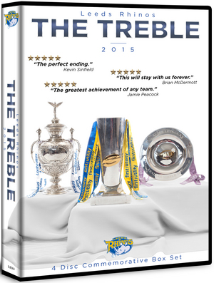 Leeds Rhinos: The Treble (2015) (Box Set) (Retail / Rental)