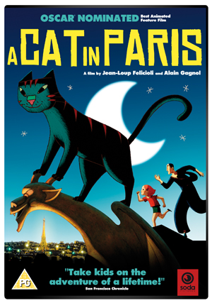 A Cat in Paris (2010) (Retail / Rental)