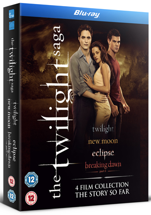 The Twilight Saga 1-4 (2011) (Blu-ray) (Box Set) (Deleted)
