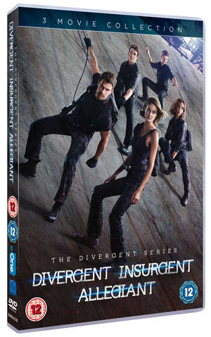 Divergent/Insurgent/Allegiant (2016) (Retail / Rental)