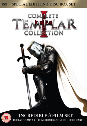 Complete Templar Collection (2008) (Box Set) (Retail / Rental)