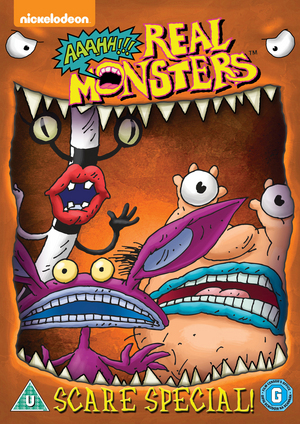 Aaahh!!! Real Monsters: Scare Special (1994) (Retail / Rental)