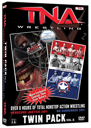 TNA Wrestling: HardCORE Justice/No Surrender 2011 (2011) (Retail / Rental)