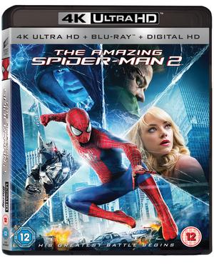 The Amazing Spider-Man 2 (2014) (Blu-ray) (4K Ultra HD + Blu-ray + Digital HD) (Retail Only)
