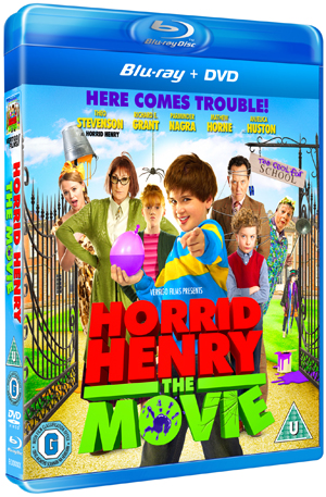 Horrid Henry: The Movie (2011) (Blu-ray) (with DVD - Double Play) (Retail Only)