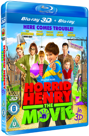 Horrid Henry: The Movie (2011) (Blu-ray) (3D Edition with 2D Edition) (Retail / Rental)