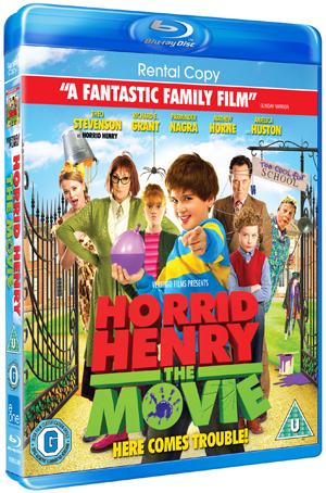 Horrid Henry: The Movie (2011) (Blu-ray) (Rental)