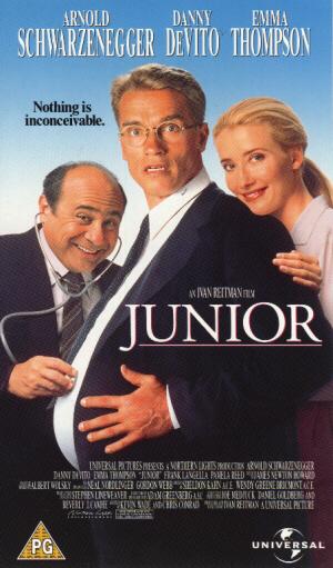 Junior (1994) (Laser Disc) (Widescreen) (Deleted)