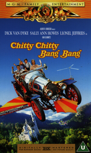 Chitty Chitty Bang Bang (1968) (Video CD) (Deleted)