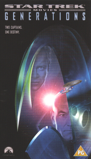 Star Trek: Generations (1994) (Laser Disc) (Widescreen) (Deleted)