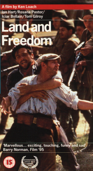 Land and Freedom (1995) (Laser Disc) (Widescreen) (Deleted)