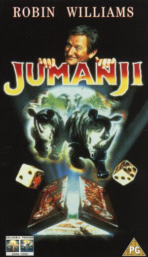 Jumanji (1995) (Laser Disc) (CAV Edition) (Deleted)