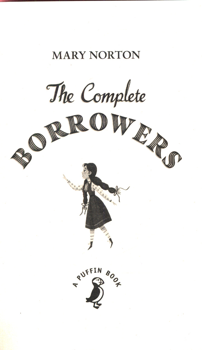 The Complete Borrowers By Norton Mary 9780241340370 Brownsbfs