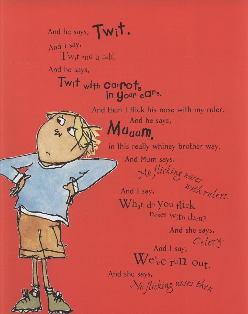 Clarice bean that s me by child lauren 9781408300046 brownsbfs