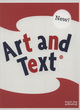 Image for Art and text