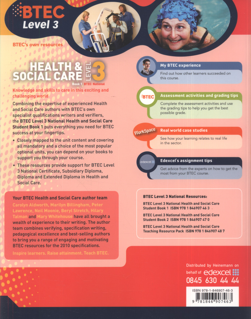 health and social care level 3 unit 4 life stages Unit 27: dealing with challenging behaviour if they were working in a health or social care setting unit edexcel btec level 3 nationals specification in.