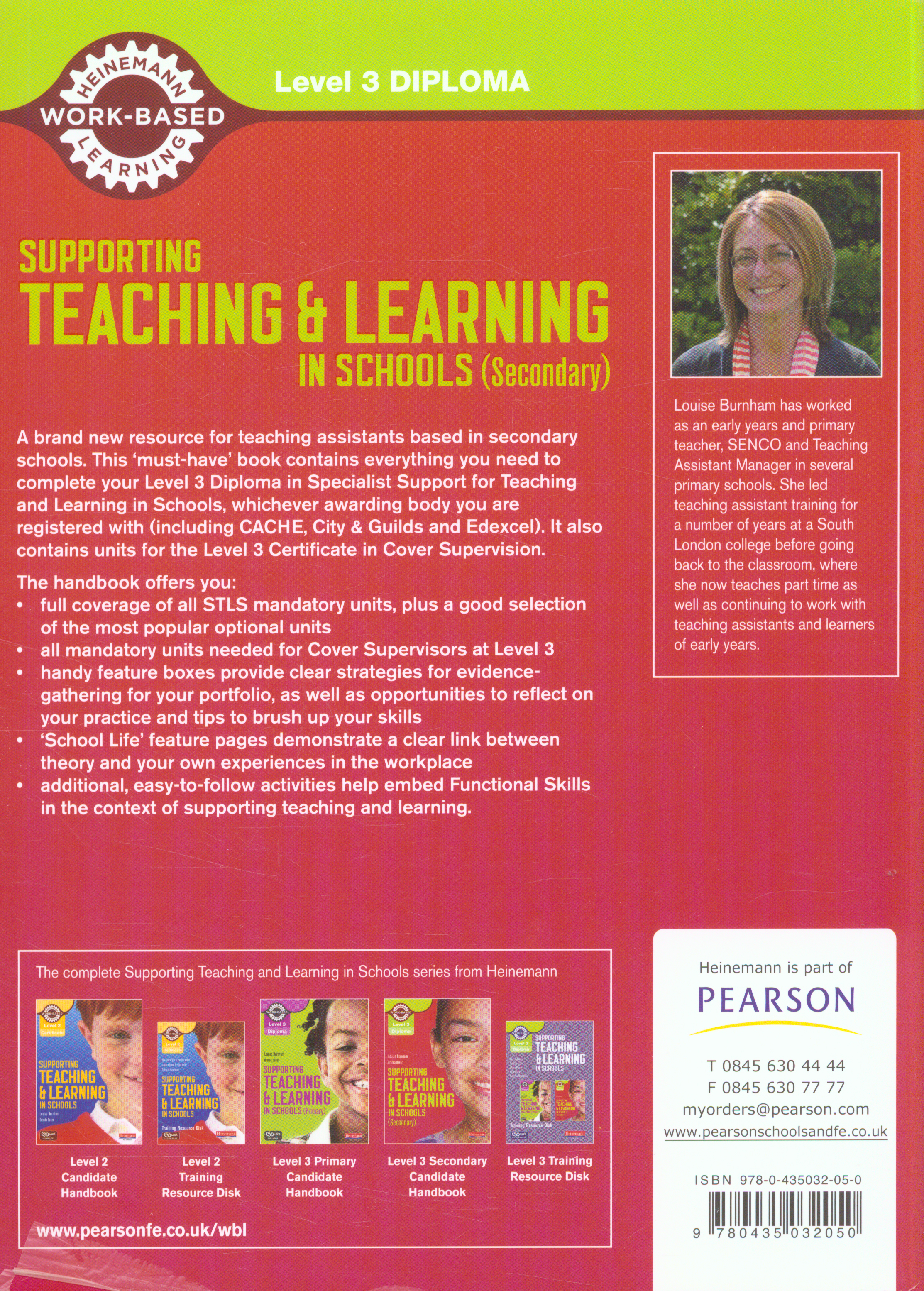 supoorting teaching and learning in schools The cache level 3 award in supporting teaching & learning in schools qualification course is an introduction to the role and responsibilities of teaching.