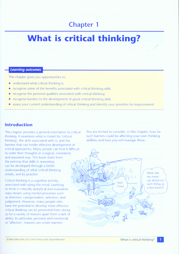 analytical critical thinking definition