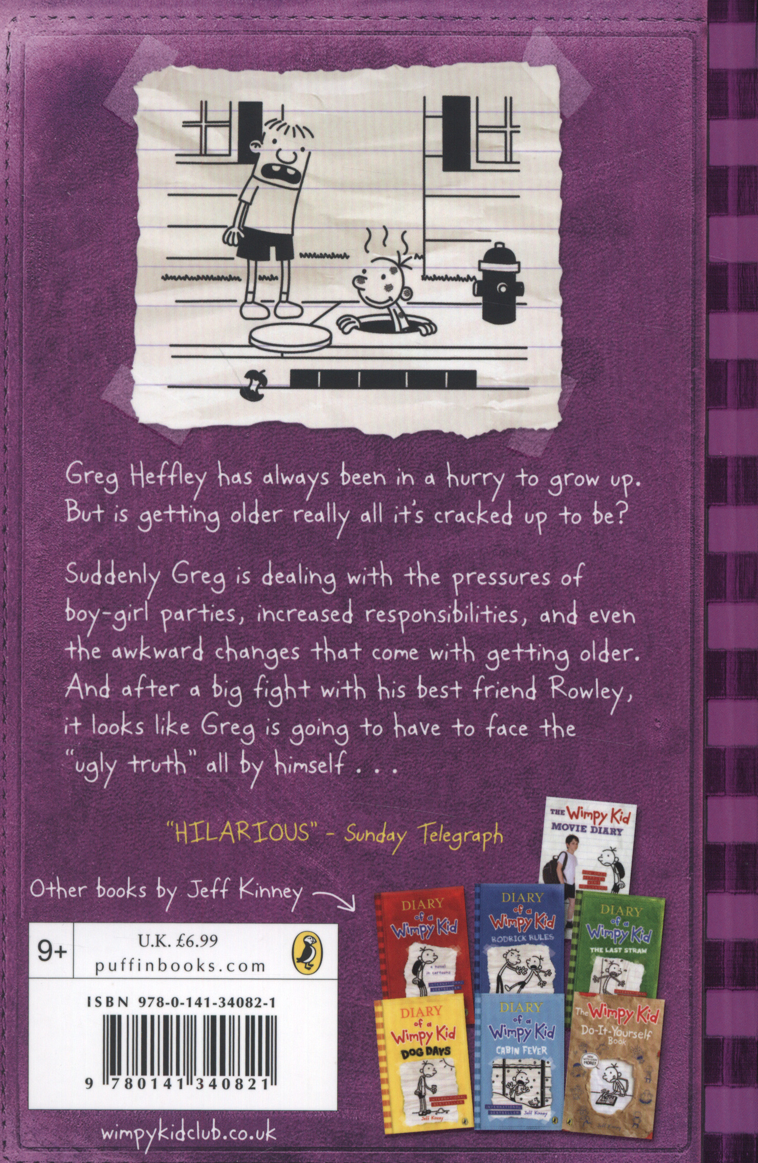 The Ugly Truth By Kinney Jeff 9780141340821 Brownsbfs