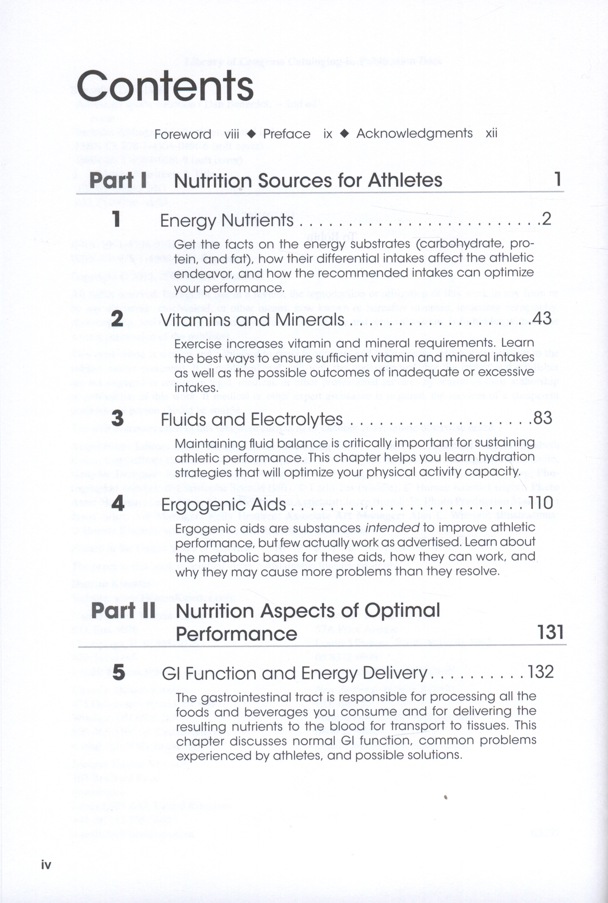 Advanced sports nutrition (2nd ed)