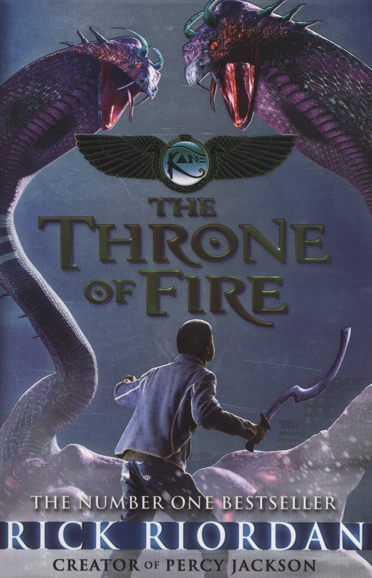 The kane chronicles: the throne of fire by rick riordan