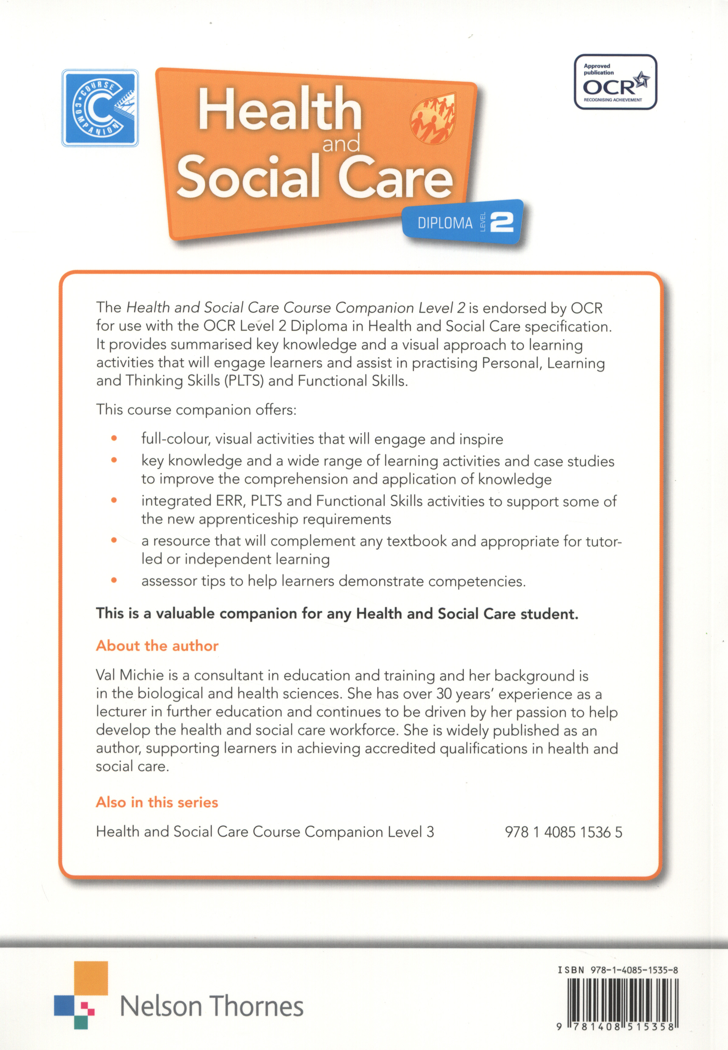 health and social care diploma level This level 3 diploma in health and social care is designed for anyone who is passionate about caring for others and making a difference in the community.