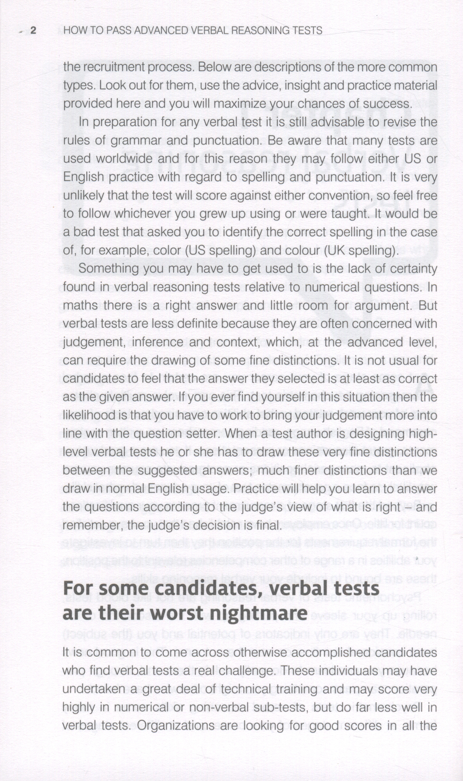 How To Pass Advanced Verbal Reasoning Tests   Essential