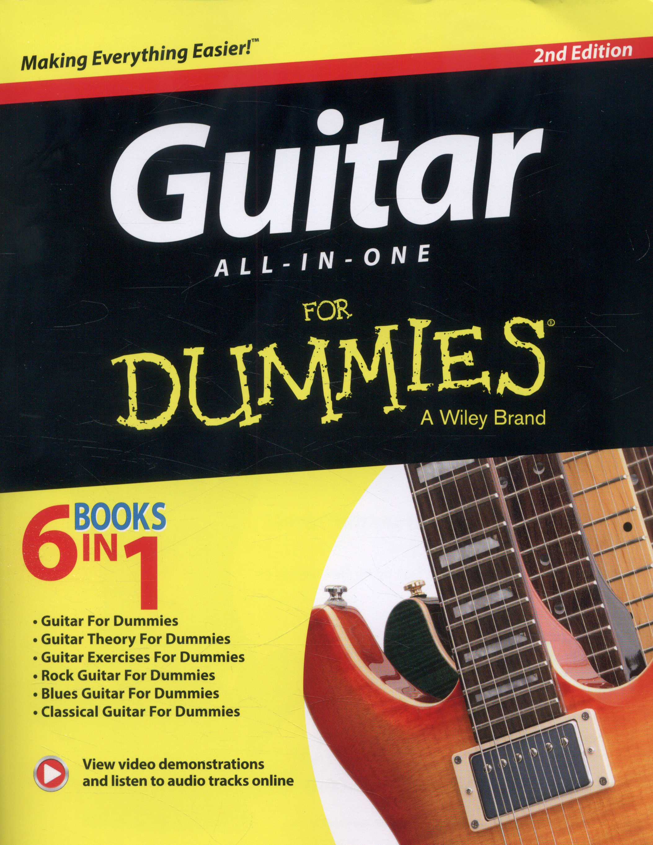 Guitar All In One For Dummies By Chappell Jon 9781118872024 Electricguitarcouk Lesson Electric Anatomy 2nd Edition