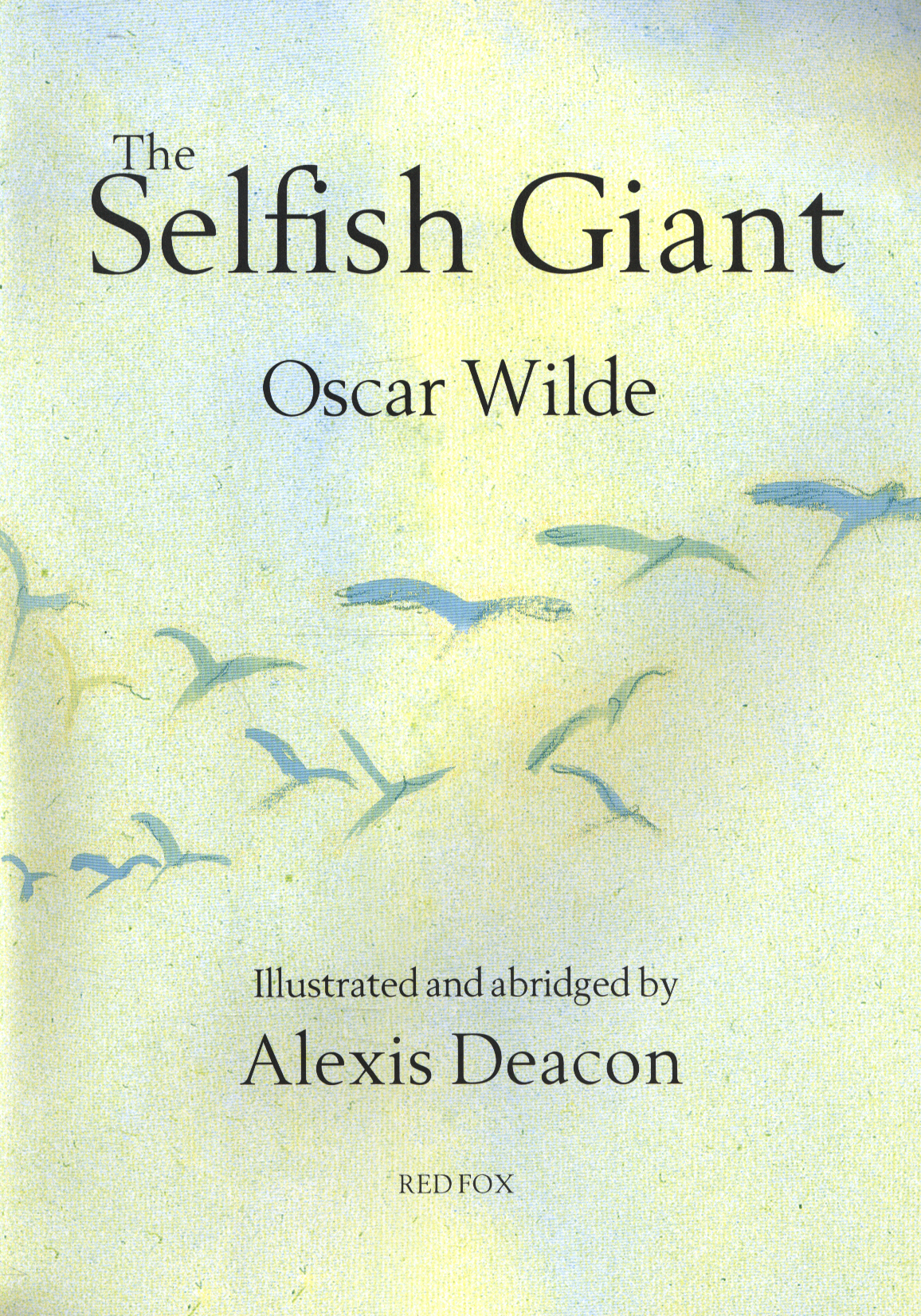 oscar wilde selfish giant The giant felt guilty about his selfish behavior, and was very sorry for what he had done i should have let the children play in my garden, he thought to himself the giant was indeed very sorry and he decided to help the small boy.